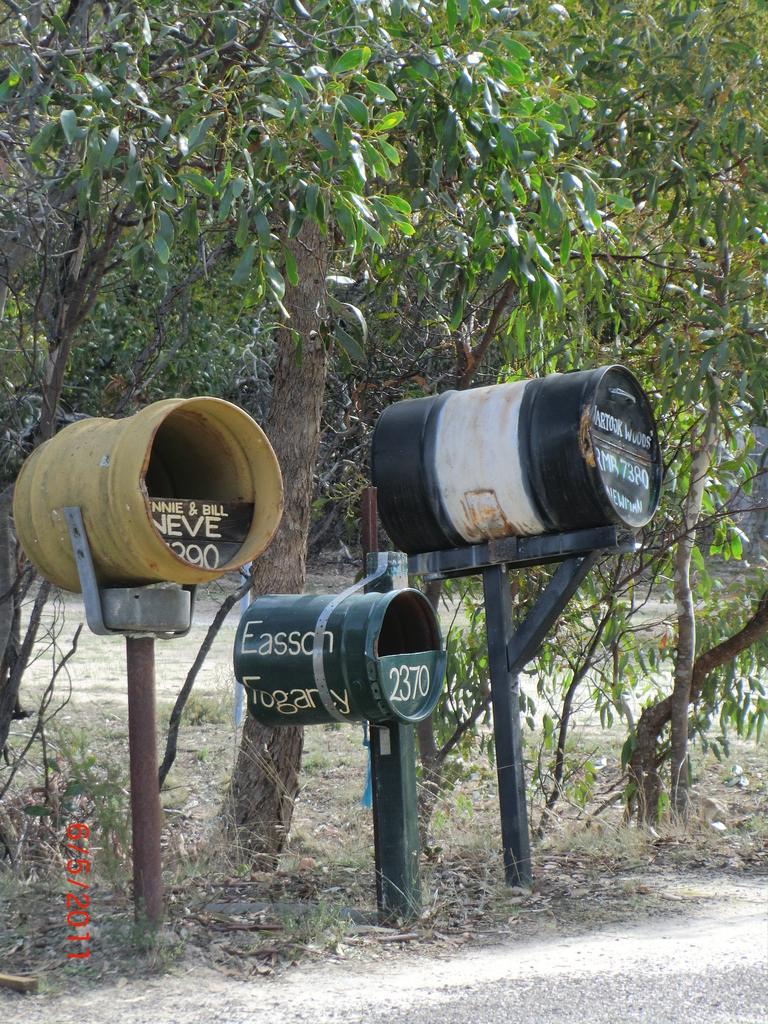 Post! irgendwo in den Grampians II