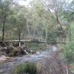 Spuren der Überflutungen, Grampians