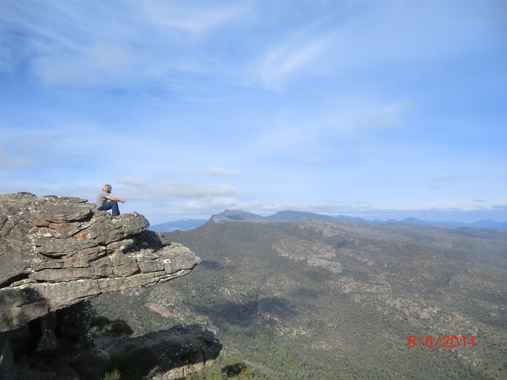 Reed Lookout & The Balconies, Grampians - Wolfi auch