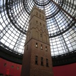 Melbourne City Eindrücke III - hier wurden früher Bleikugeln durch Fallenlassen des flüssigen Materials in exakt runde Form gebracht