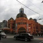 Melbourne City Eindrücke V - beliebter Treffpunkt von zu vielen Menschen