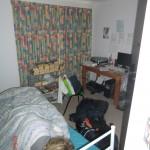 zwei Nächte in Matts Haus in Melbourne: hier schlief Wolfi
