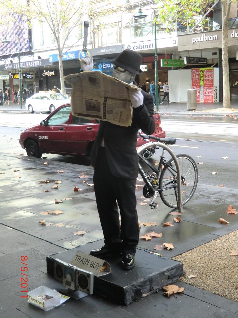 große Melbourne-Stadtführung - mit Matt zu Fuß unterwegs IV