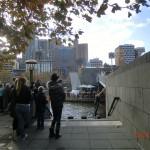 große Melbourne-Stadtführung - mit Matt zu Fuß unterwegs VII - Parcour-Sportler
