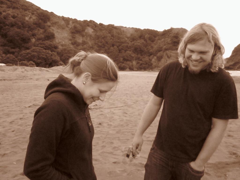 Fotos von Kerstin: Abschiedsdinner am Piha-Beach