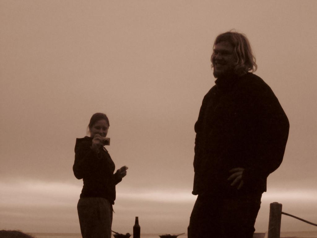 Fotos von Kerstin: Abschiedsdinner am Piha-Beach III