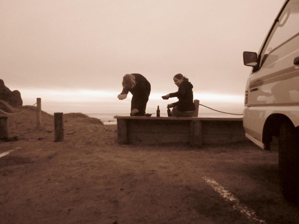 Fotos von Kerstin: Abschiedsdinner am Piha-Beach IV