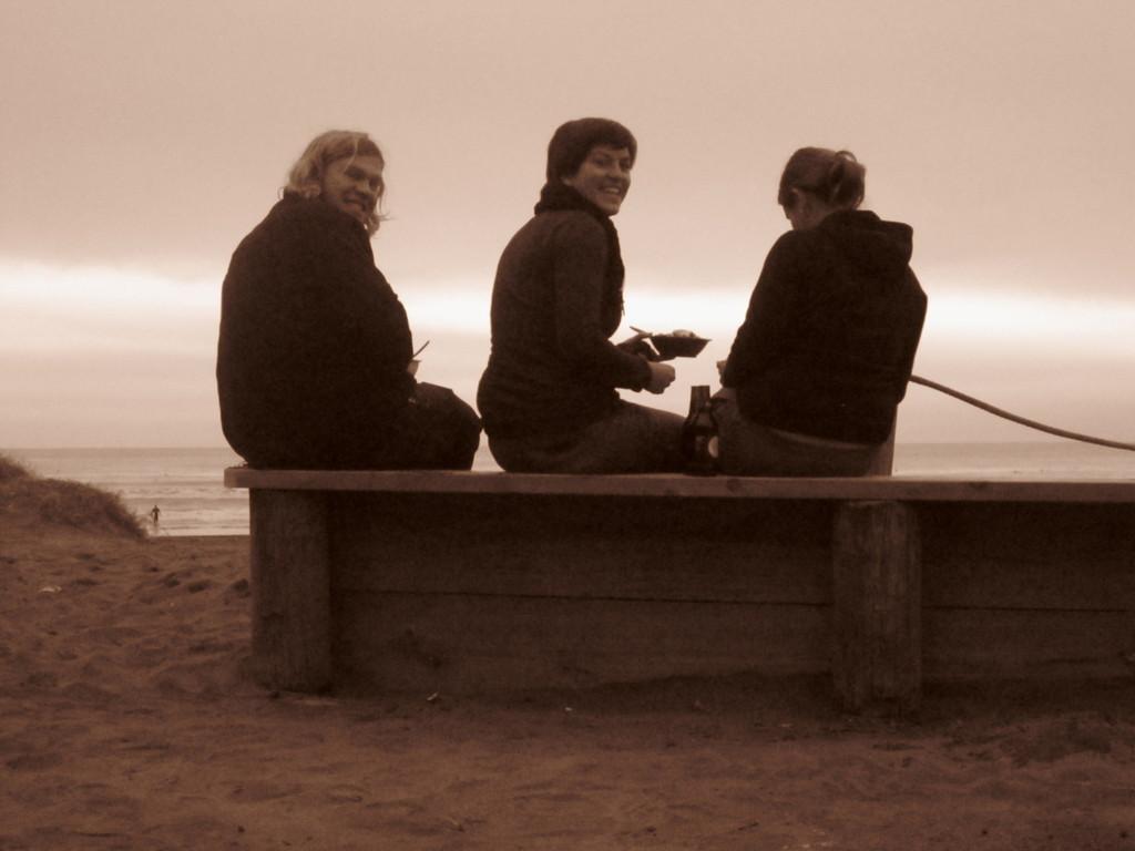 Fotos von Kerstin: Abschiedsdinner am Piha-Beach V