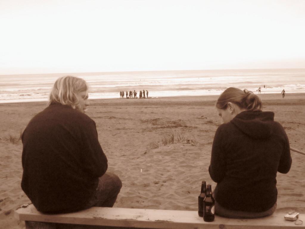 Fotos von Kerstin: Abschiedsdinner am Piha-Beach VI