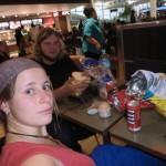 Eine lange Reise geht zu Ende: kurz vorm Abheben am Auckland Airport.