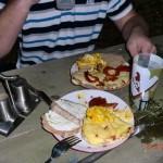 gebratene Tomaten-Käse-Hühnchenbrust - unser NZ-Style und sehr lecker!