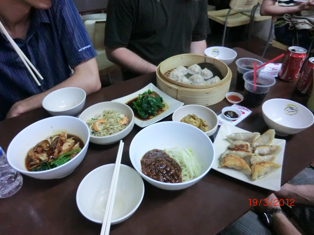 Essen in Chinatown, Singapur