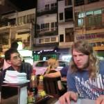 Ho Chi Minh, unsere Restaurant-Ecke