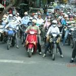 Ho Chi Minh, normaler Stadtverkehr