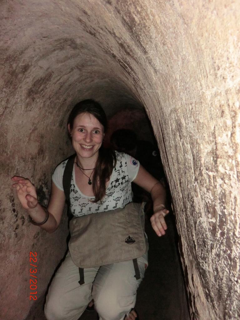 im Cu-Chi-Tunnel