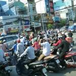 Ho Chi Minh, nochmal der Verkehr