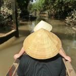 Mekong-Tour, auf einem ruhigen Seitenarm