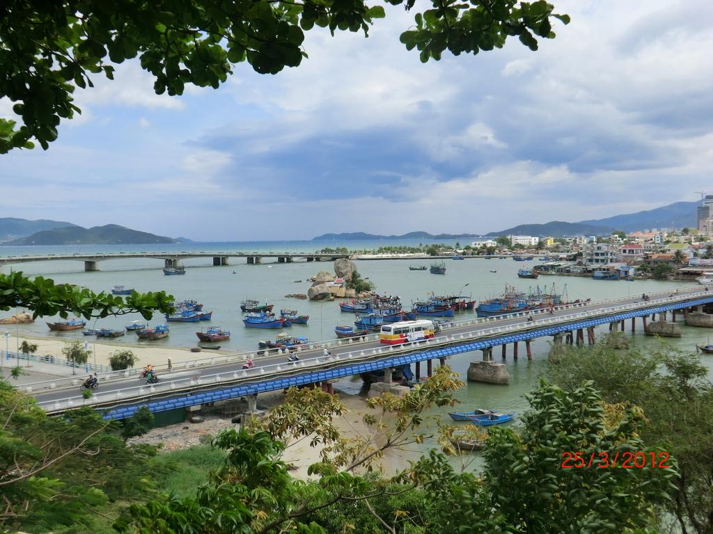 Nha Trang, von den Cham Towers herab geblickt