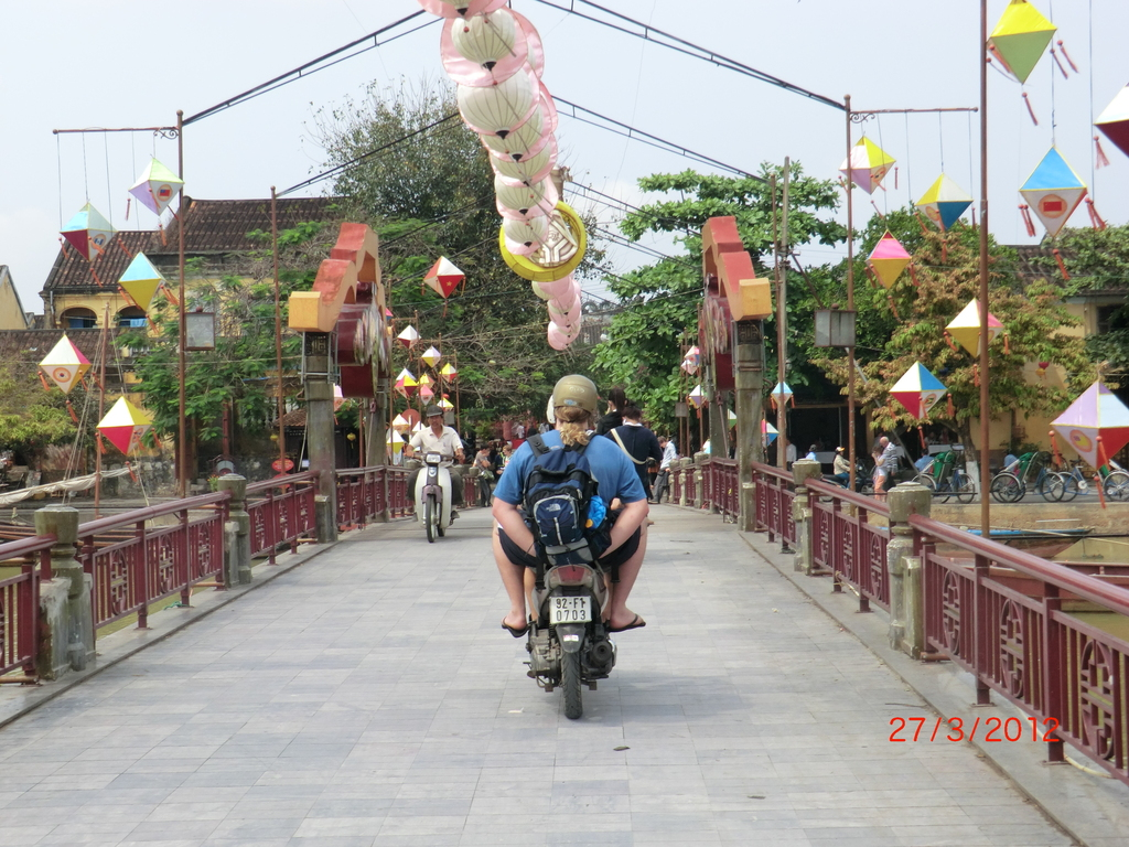 Motocycle-Tour in Hoi An