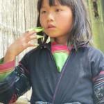 Trekking von Sapa nach Cat Cat Village, Black Hmong Mädchen
