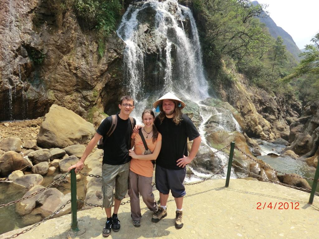 Trekking von Sapa nach Cat Cat Village, Wasserfall