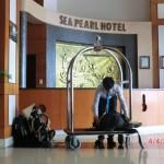 auch nicht übel: Sea Pearl Hotel auf Cat Ba Island für die letzten Tage