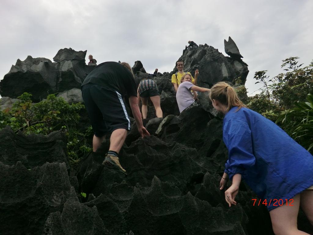 Klettern auf Monkey Island